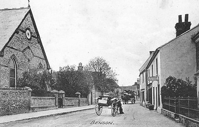 .0000BS0389 - High Street - Pony & Trap outside The Free Church which opened in 1879 and closed in 2009-S