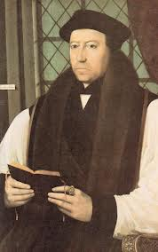 Thomas Cranmer, Archbishop of Canterbury 1532-1555 author of both 1549 & 1552 Books of Common Prayer