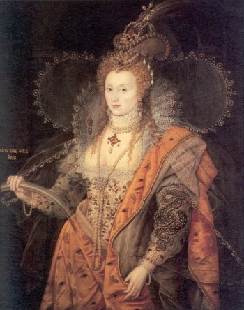 Elizabeth I -  eternally the good fairy - the rainbow portrait