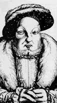 The old king - the tyrant: bloated & beady eyed....