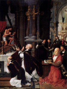 Pope St Gregory I ( the Great b.540 d.604) reigned 590-604 responsible for creation of complete service books