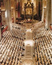The Second vatican council - assembled in St Peter's, Rome in 1962 by Pope John XXIII & continued into another session by pope Paul VI
