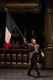 Bryon Hymel as Henri - flag waving...