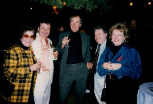 Creena on the left with my good friends James & Elizabeth, Mark & Eric(RIP)